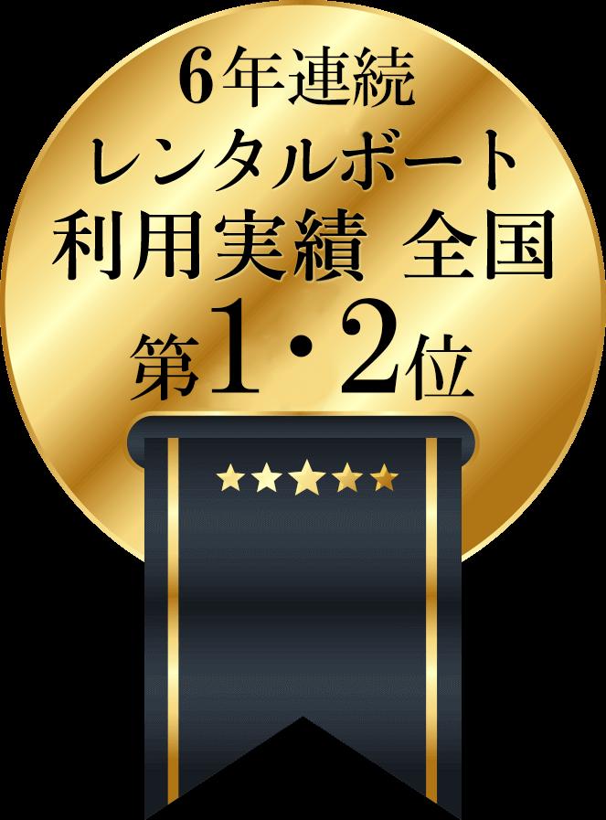 6年連続 YAMAHA SeaStyle 『利用実績部門最優秀賞・優秀賞』
