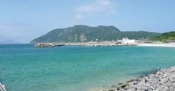 新島(新島港・若郷漁港)