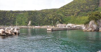 神津島(三浦漁港)