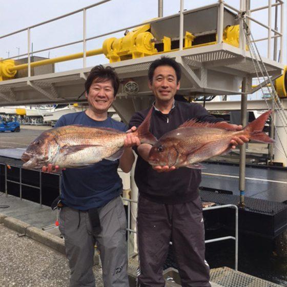 ✿マダイ・アカハタ・イサキ大漁✿