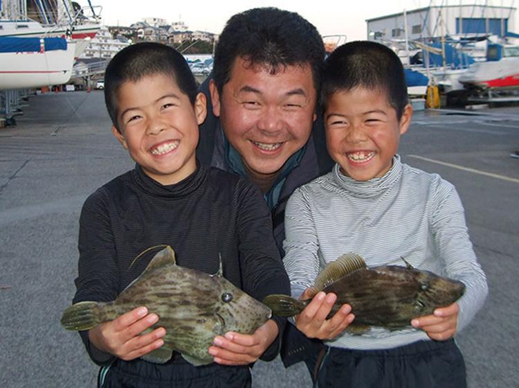 劒崎沖カワハギ釣りプラン