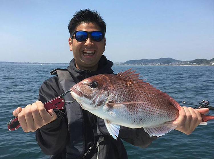 久里浜沖真鯛釣りプラン