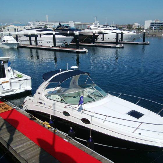 本日「横浜ボートフェア2018」開催しております!
