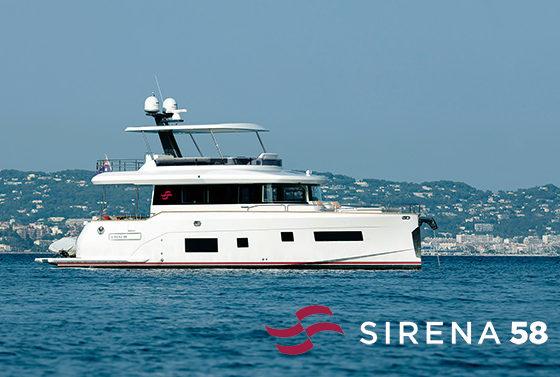 【SIRENA58 (2019年モデル)】BOATSHOW 2020出展艇のご紹介