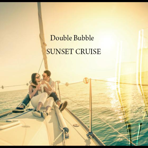 夏のイベント「Double Bubble SUNSET CRUISE」のお知らせ