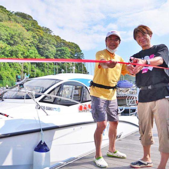 【Sea-style】祝! YFR-24~ボラン~ 進水式,゚.:。+゚